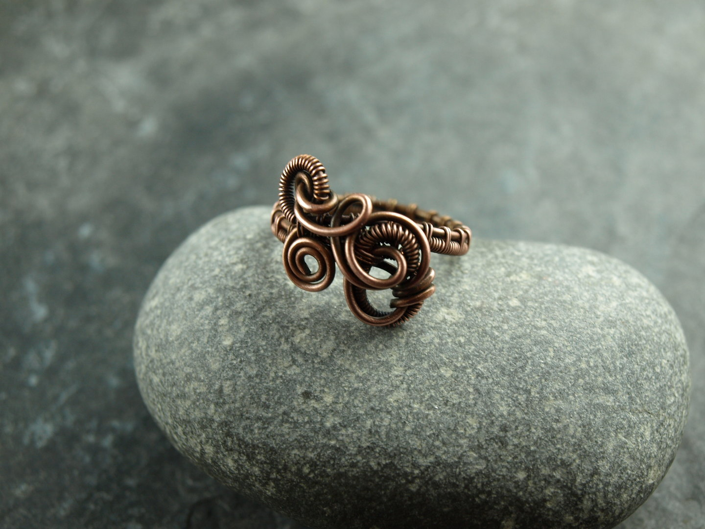 Ring, Kupfer, wirework